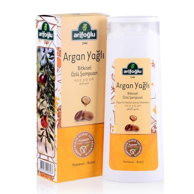 Argan Yağlı Bitkisel Özlü Şampuan 400ml