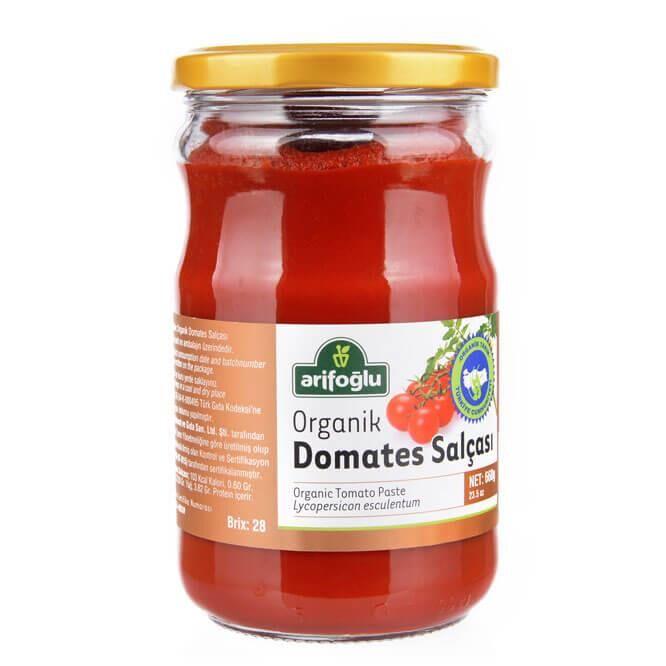 Organik Domates Salçası 660 Gr