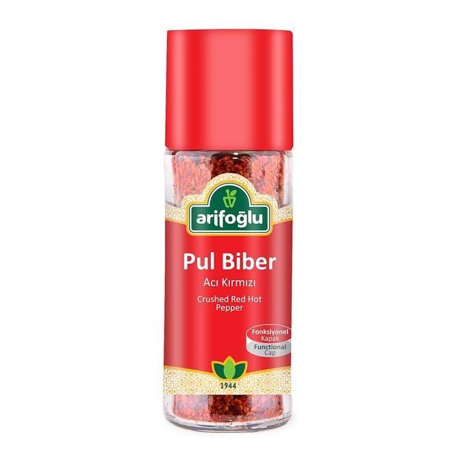 Pul Biber (Acı Kırmızı) 50g (Cam)