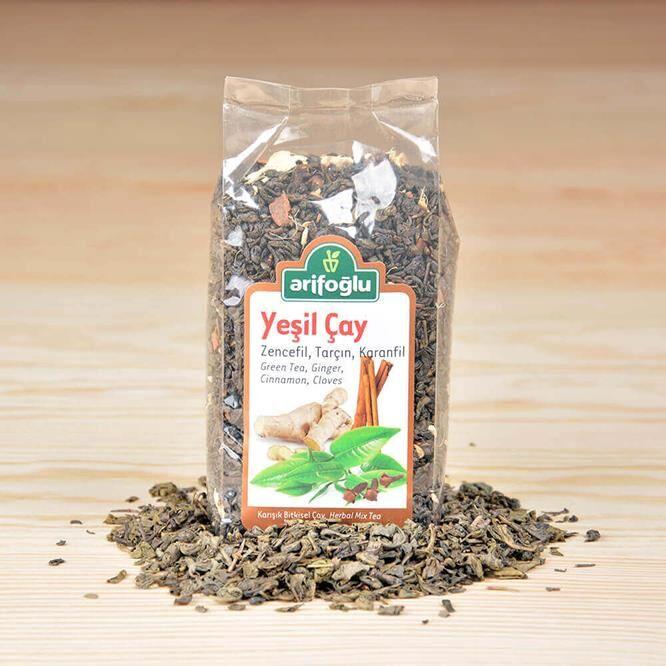 Yeşil Çay Zencefil Tarçın Karanfil 165g