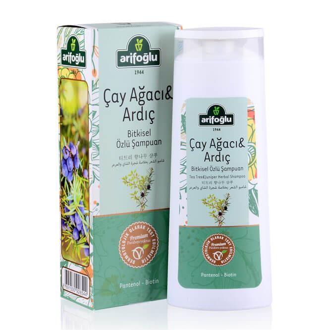 Çay Ağacı Ve Ardıç Özlü Bitkisel Şampuan 400ml