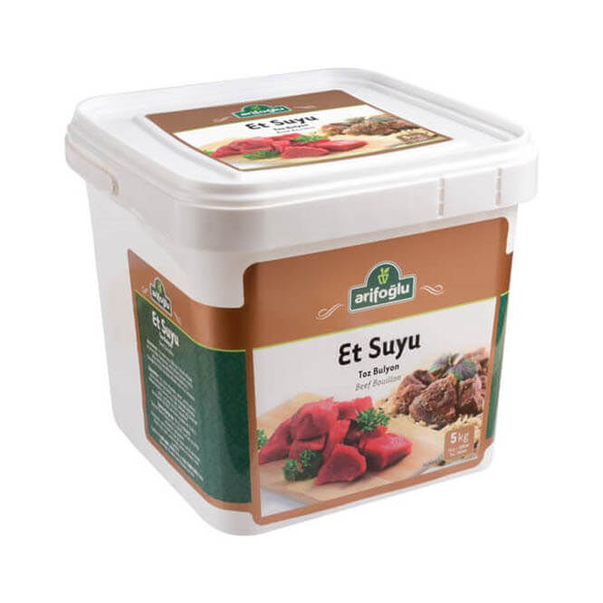 Et Suyu - Toz Bulyon 5kg