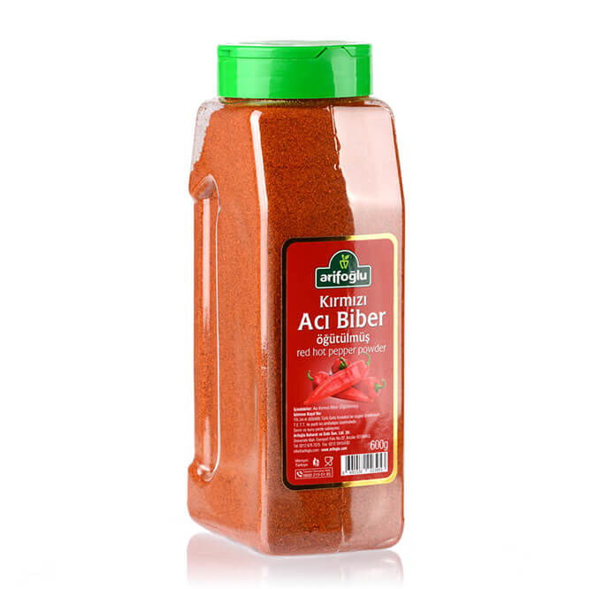 Hot Pepper (Red Ground) 600g