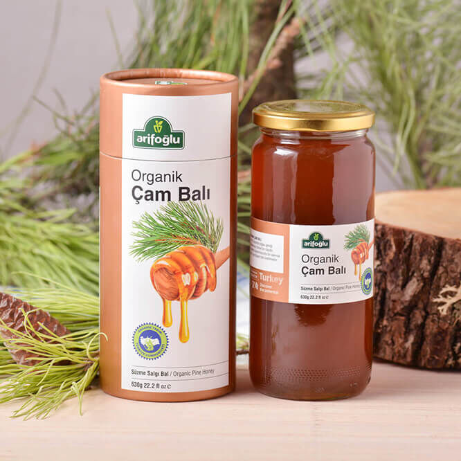 Organic Pine Honey 630g