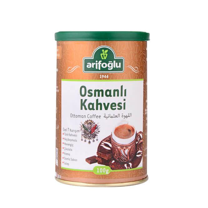 Osmanlı Kahvesi Teneke Kutu 100g
