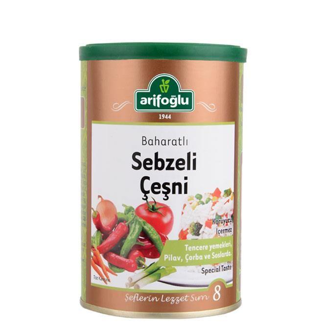 Sebzeli Çeşni 220 Gr (Tnk)