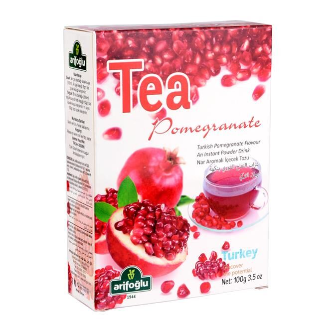 Narlı Toz İçecek Tea Pomegranate 100g مسحوق شراب بنكهة الرمان