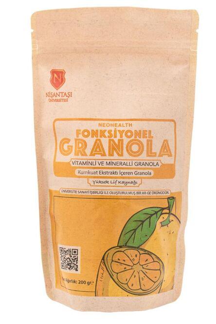 Vitaminli Ve Mineralli Kumkuat Ekstraktı Içeren Fonksiyonel Granola 200g